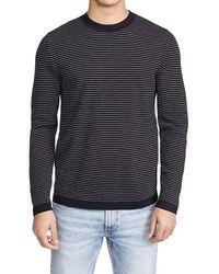Theory Sweater Crewneck - Blauw