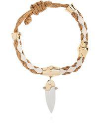 Chloé Indra Woven Bracelet - Wit