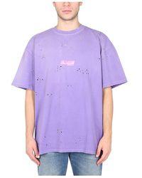 MSGM T-Shirt - Lila