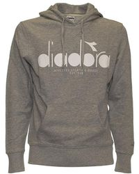 Diadora - Hoodie 5palle - Lyst