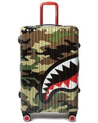 Sprayground Large Luggage Suitcase - Groen