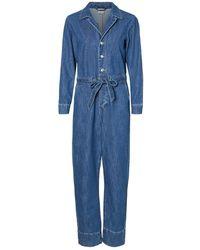 Vero Moda Jumpsuit Denim - Blauw