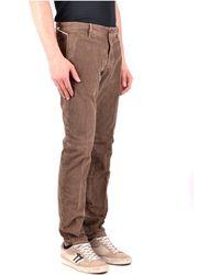 Incotex Trousers Marrón