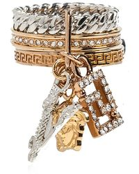 Versace Crystal Ring - Geel