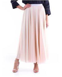 Fabiana Filippi Gnd270W595 Long skirt - Neutre