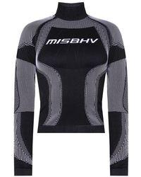 MISBHV 'Sport Active' long-sleeved top - Schwarz