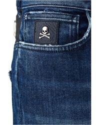 Philipp Plein Jeans Slim Fit Azul