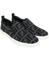 Fendi Sneakers - Zwart