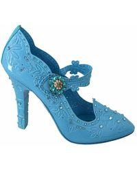 Dolce & Gabbana Cinderella Shoes - Blauw