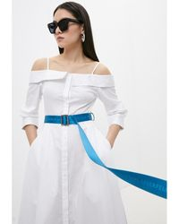 Karl Lagerfeld Belt Azul