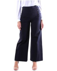 Chloé - Chc20spa02047 Wide Trousers - Lyst