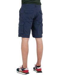 40weft Nick Cargo Shorts Azul