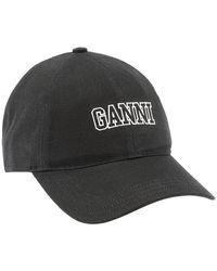 Ganni Cap - Zwart