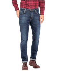 Lee Jeans Rider L701dxcp Trousers - Blauw