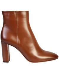 Santoni Zipped Boots - Bruin