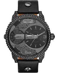 DIESEL Time Frames Dz7328 Horloge - Zwart