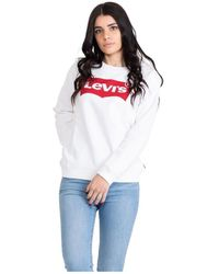 Levi's Relaxed Graphic Sweatshirt - Wit