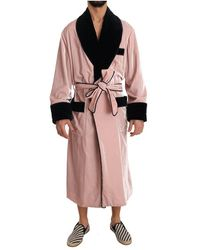 Dolce & Gabbana Robe Nightgown - Roze