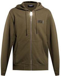 DIESEL Sweatshirt With Logo - Groen