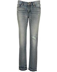 Saint Laurent Jeans 631263y372z - Blauw