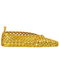 Jil Sander Ballerina Shoes - Geel