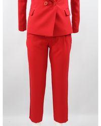 Hanita Trousers - Rouge