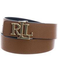 Ralph Lauren Cintura Reversibile - Bruin