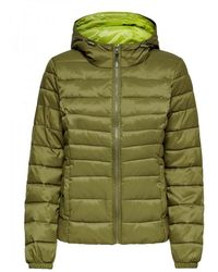 ONLY Cazadora Tahoe Mujer - Groen
