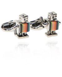 Paul Smith Robot Cuff Links - Grijs