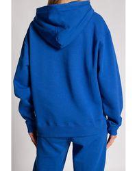 Holzweiler Sweatshirt with logo Azul