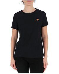 Paul & Shark Tiger-motif T-shirt - Noir