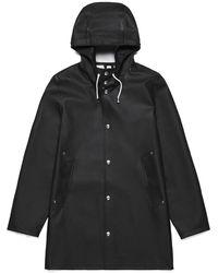 Stutterheim Stockholm Raincoat - Zwart