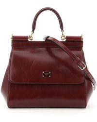 Dolce & Gabbana Small Sicily Bag - Rood