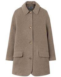 Brixtol Textiles Coat - Marrone