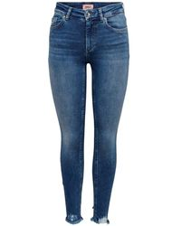 ONLY Jeans Blush Life - Blauw