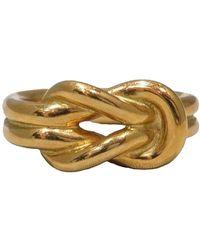 Hermès Regate Scarf Ring - Jaune