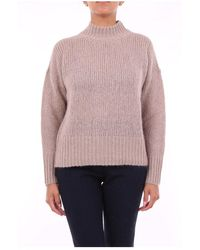 Peserico - S99610F0309087 Crewneck knitwear - Lyst