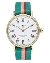 TIMEX ARCHIVE Watch UR Tw2T98500Lg - Grün