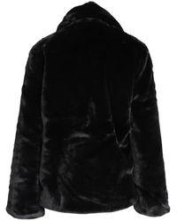 Suncoo Pelz-Jacke Negro