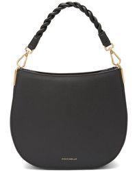 Coccinelle Hobo Bag Arpege Medium - Zwart