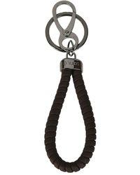 Tod's Twist key holder - Braun