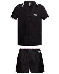 Moschino Two-piece Pyjamas - Zwart