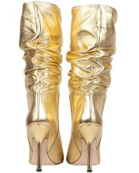 DSquared² Boots With Heel Amarillo