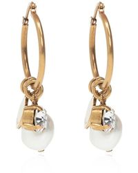 MISBHV Pearl earrings - Jaune
