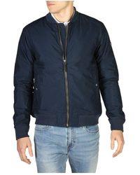 Hackett Jacket Hm402082 - Blauw