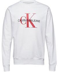 Calvin Klein - Monogram Logosweatshirt - Lyst
