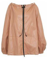 Erika Cavallini Semi Couture Jacket p1wi05 12 - Marron