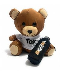 Moschino Teddy Bear & Ombrello Super Mini Retraibile O20Mo18 - Schwarz