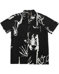 Dark Seas Camisa Gonzo - Nero