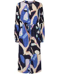 Numph Nucasey Dress - Blauw
